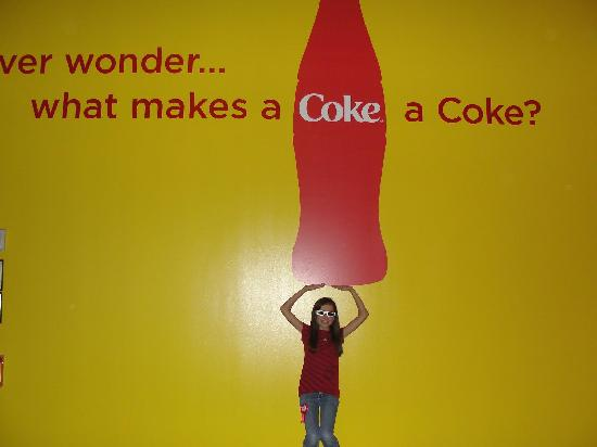 World of Coca-Cola: Fun 3D exhibit with moving seats.  Hold on!!