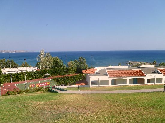 Rodos Princess Beach Hotel: Vista dal Balcone