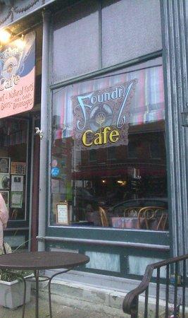 Foundry Cafe: Facade