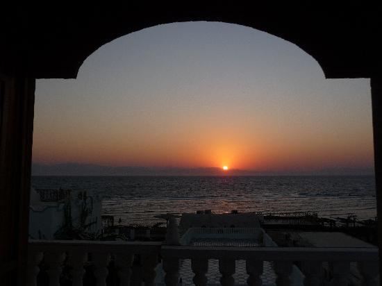 Sunrise viewed from Blue Beach Club
