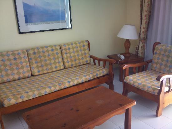 Playa Olid Apartments: lounge area