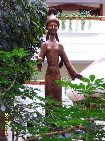 Rahat Palace Hotel: Lobby