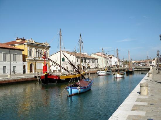 Ristorante Pippo: Porto canale Leonardesco