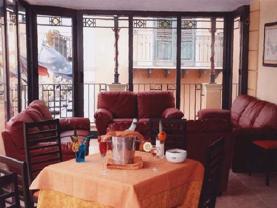 Hotel Centrale: Sala Bar