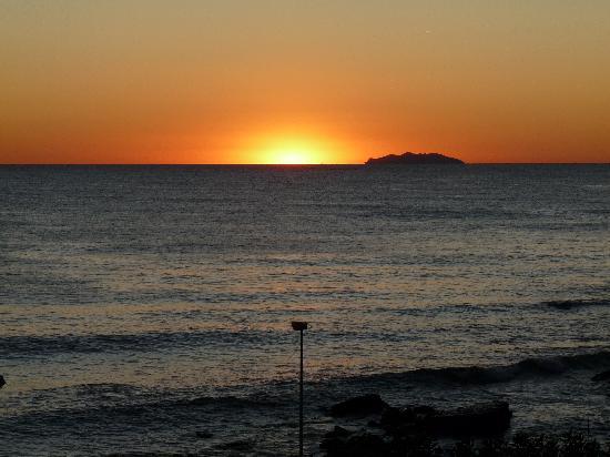 Villa Margherita: Sonnenuntergang am Hotel