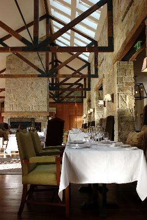 Emirates One&Only Wolgan Valley: The dining room