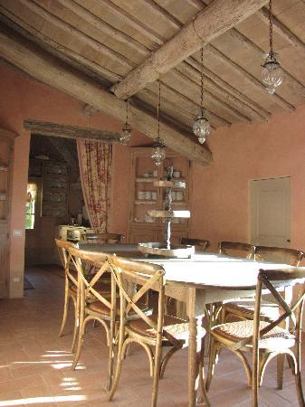 Podere La Strega: Kitchen in the second floor