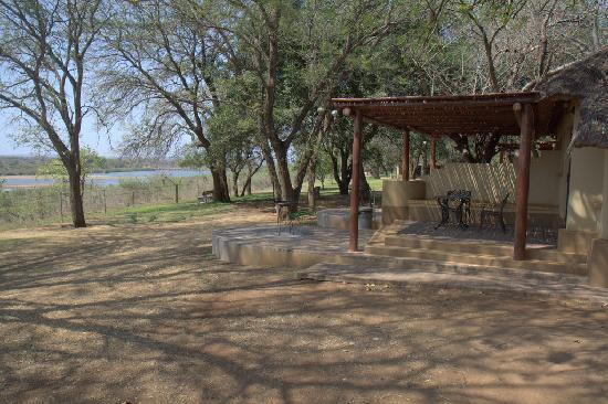 Lower Sabie Restcamp: River view
