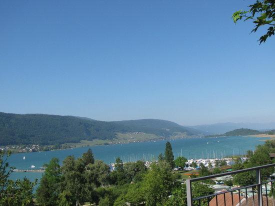 Hotel Garni : Blick von der Terrasse