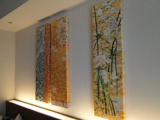 โรงแรมพูลแมน บางกอก คิงเพาเวอร์: Nice artwork