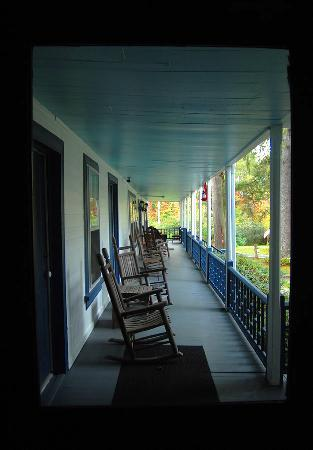 Rabun Gap, GA: The York House Inn and its great porch!