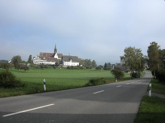 Kloster Kappel, looking north