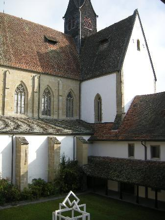 Kloster Kappel: Abbey Church from cloister