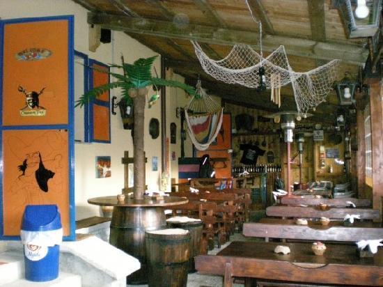 Ristorante Pizzeria Le Fonti: Veranda