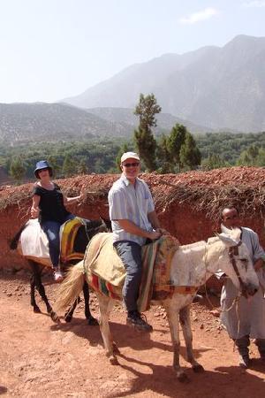 Domaine Malika: Mule trek