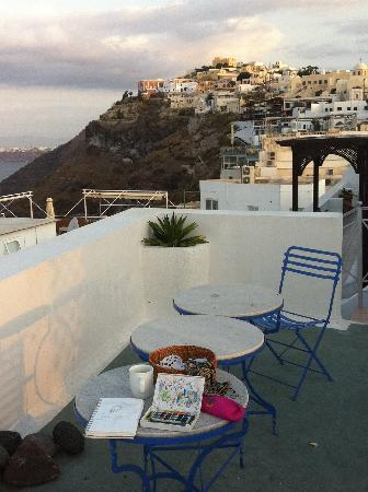 Theoxenia Boutique Hotel: Rooftop afternoon