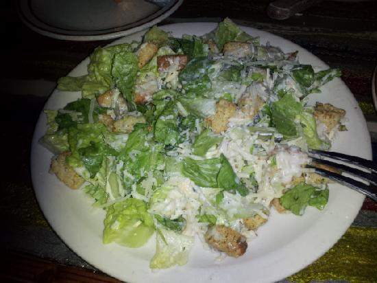 Hydra Steakhouse & Lounge: Large Fresh Caesar Salad