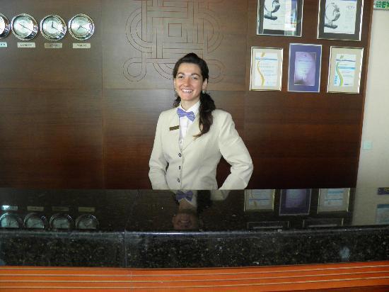 Iberostar Sunny Beach Resort: reception