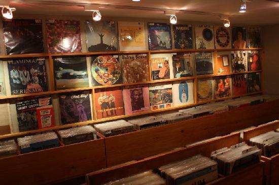 Woodstock Music Shop : Inside the Vinyl Vault