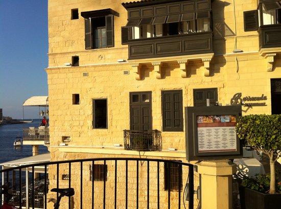 Picture of Barracuda Restaurant in Malta (cheap smartphone pic)