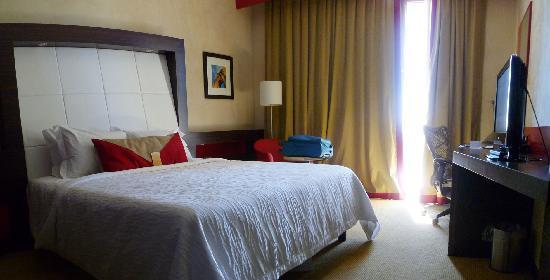 Hilton Garden Inn Lecce: Stanza molto accogliente