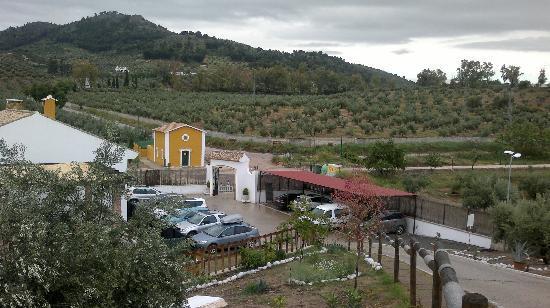 Apartamentos Turistico Rurales Via Verde del Aceite: Parking