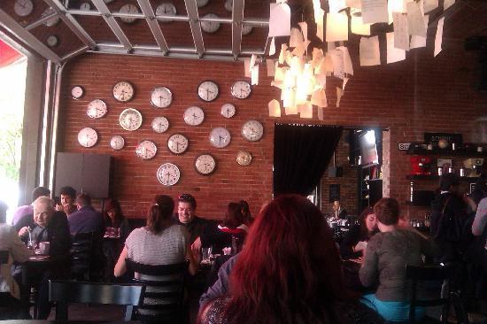 School Restaurant: Cool interior