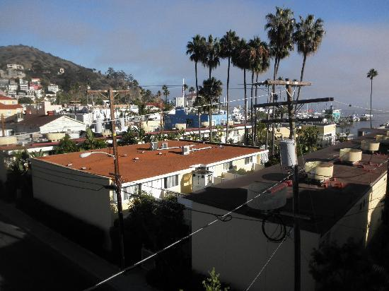 Seacrest Inn: Looking south from roof