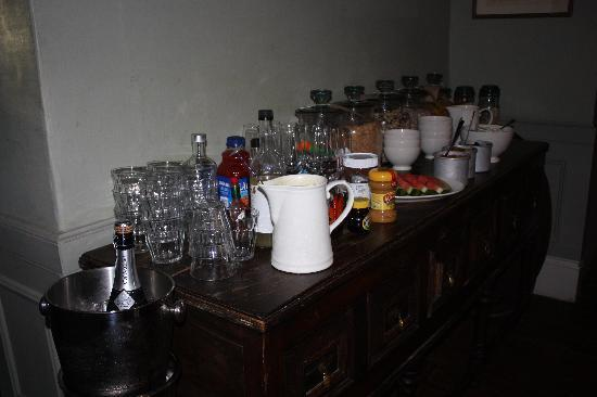 The Wheatsheaf Inn: The breakfast