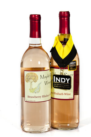 Casselton, ND: Strawberry Rhubarb Wine 2010 International Fruit Wine of the Year