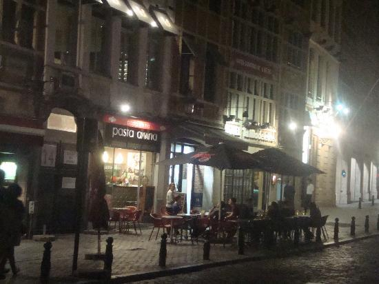 Aris Hotel Grand Place: il ristorante pasta divina,ve lo consigliamo caldamente