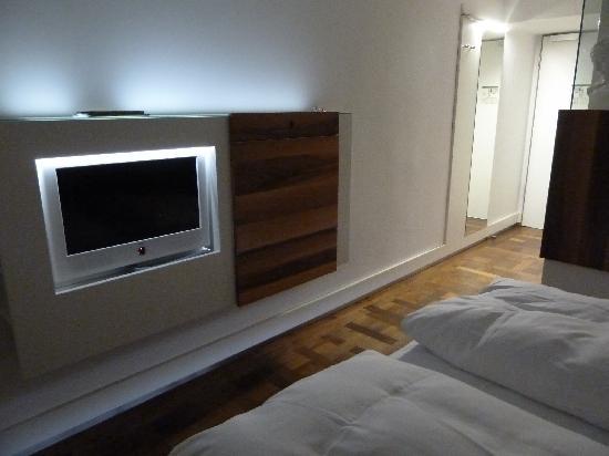 Hopper Hotel St. Josef: Unser Zimmer