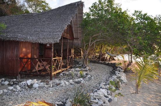 Ankazoberavina Island, Madagascar: bungalow