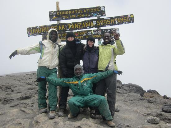 Mount Kilimanjaro: On the highest point in Africa!