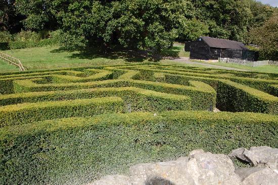 Catnap Corner: Getting lost in the maze @ Leeds Castle!