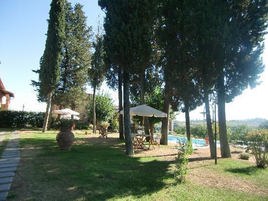 Il Castagnolo: Vista della piscina