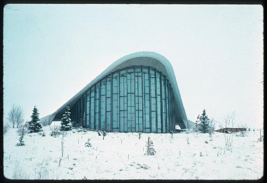 Fleischmann Planetarium and Science Center: Fleischmann Planetarium, 1972