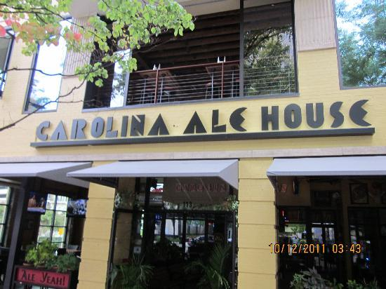 Carolina ale house greenville 113 s main st for Greenville house