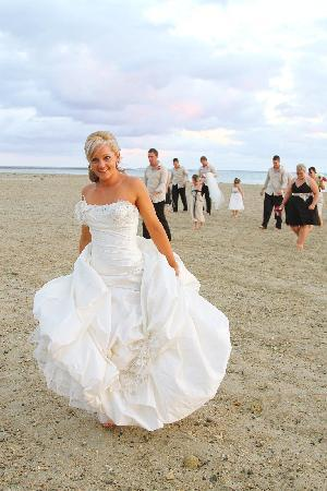 Outrigger Fiji Beach Resort: Wedding Shot on the beach