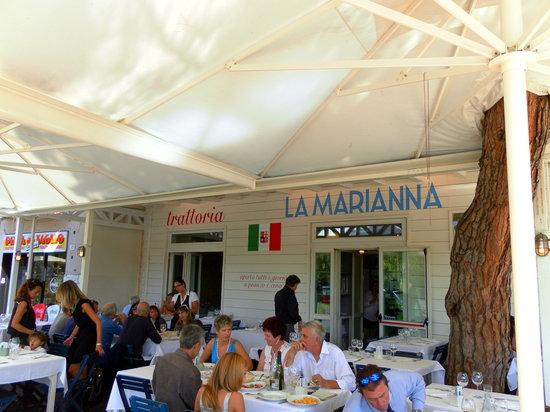 Trattoria La Marianna: esterno