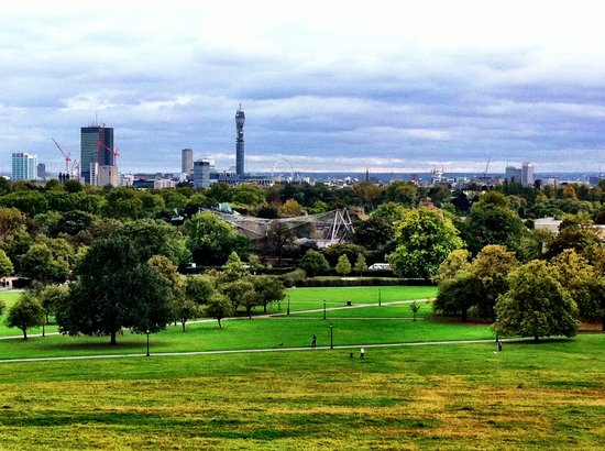 ลอนดอน, UK: The view from Primrose Hill