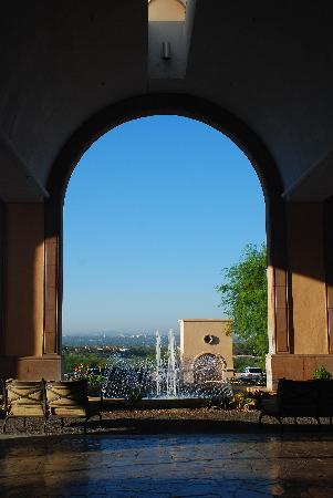 The Westin La Paloma Resort & Spa: View from the front desk