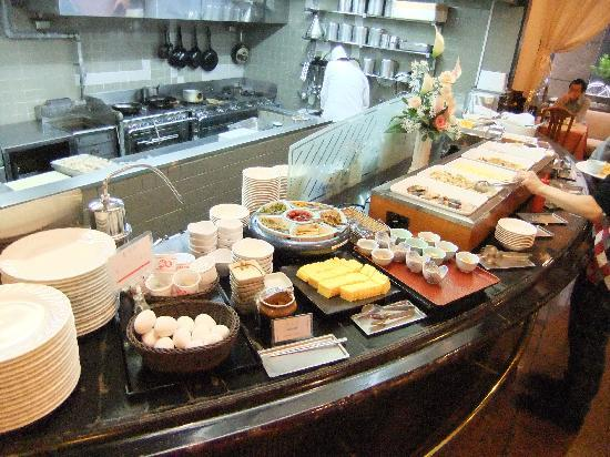 Hotel Sunlite Shinjuku: バイキングメニュー