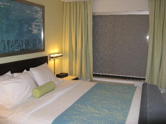 SpringHill Suites Asheville : Sleeping Area