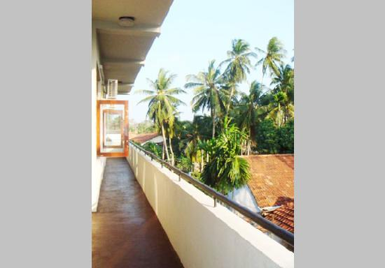 Blue Gum Hotel: Balconies