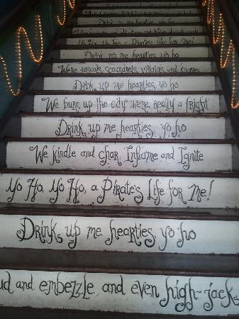 The Pirate Haus Inn: Front Entry