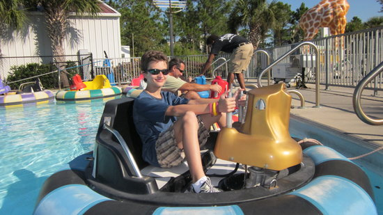 Orange Beach, AL: Bumper boats