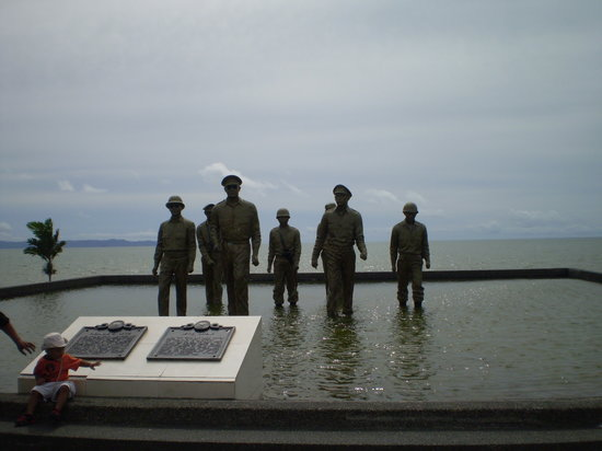 Leyte Island, Φιλιππίνες: MacArthur Landing