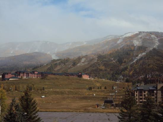 Wyndham Vacation Resorts Steamboat Springs: View after snow