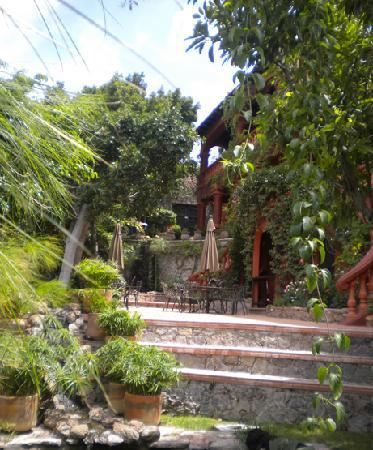 Casa Puesta Del Sol: jardin